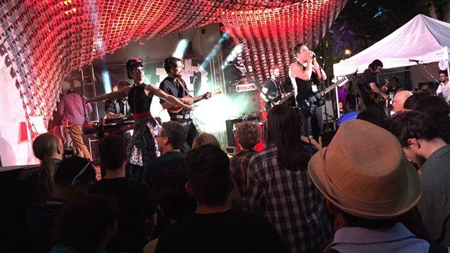 The Mariachi Ghost lors de la soirée d'ouverture de la 27e édition du Festival international de jazz de Winnipeg.