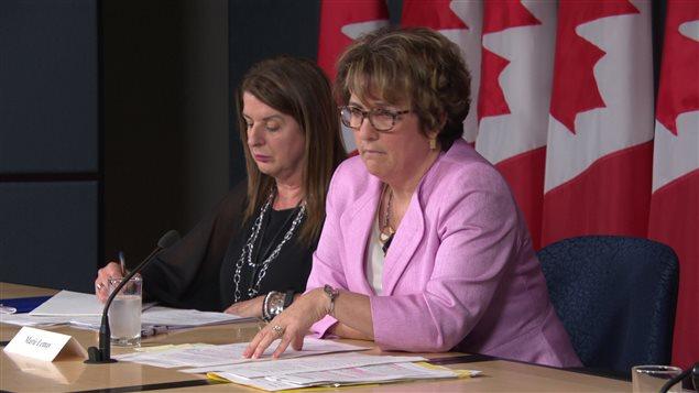 La sous-ministre Services publics et Approvisionnement Canada, Marie Lemay