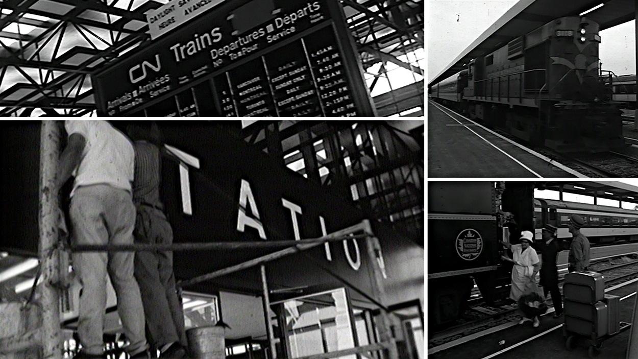Le 1er août 1966, la nouvelle gare d'Ottawa était inaugurée, sur le chemin Tremblay.