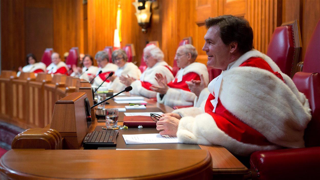 Les juges de la Cour suprême du Canada