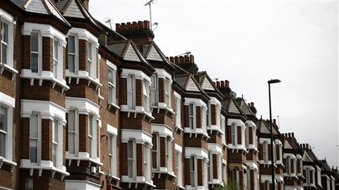 Rangée de demeures londoniennes
