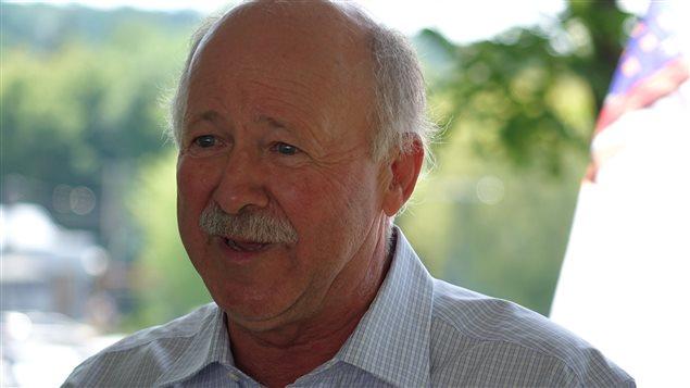 Le député de Brome-Missisquoi, Denis Paradis