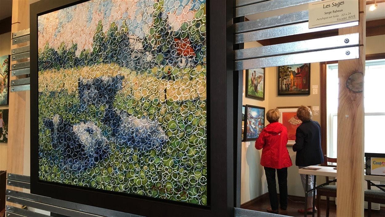 Rencontre des peintres de ste-flore