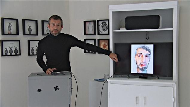 Luc Pallegoix, artiste à l'Atelier Auckland