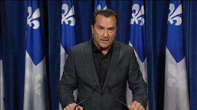 Le député péquiste Alain Therrien