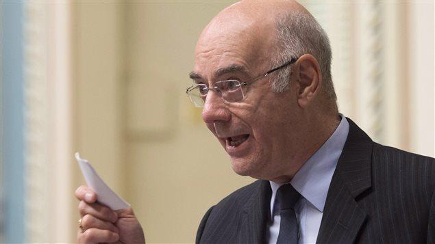 Jacques Daoust à l'Assemblée nationale