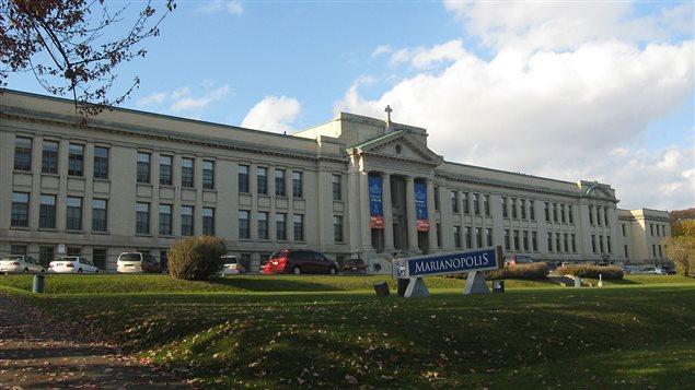 Collège Marianopolis, à Westmount