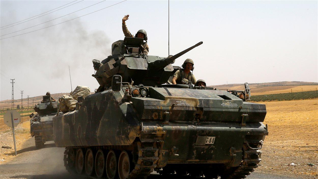 Chars de l'armée turque