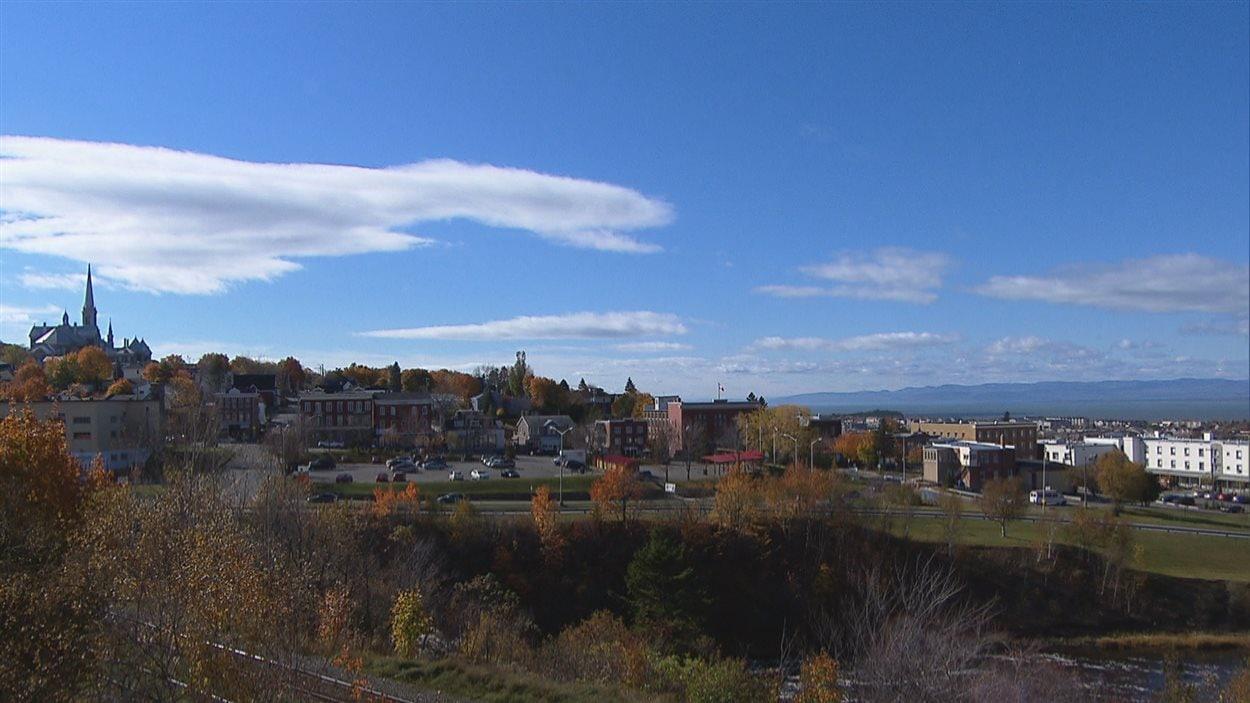 La ville de Rivière-du-Loup