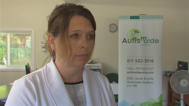 Christine Houde, directrice générale d'Autism'Aide Estrie