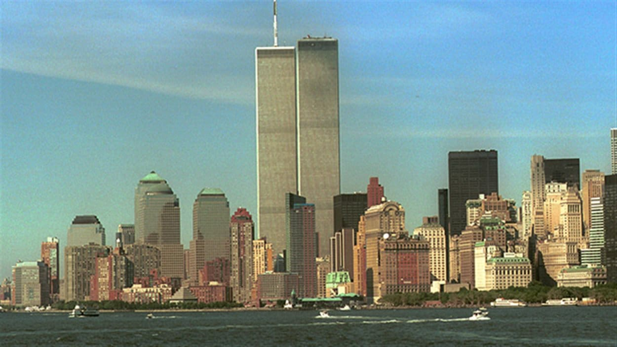 Les tours du World Trade Center en 2001