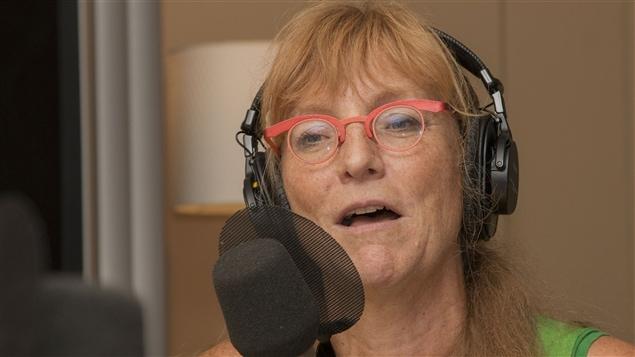 L'ergothérapeute Brigitte Leblanc