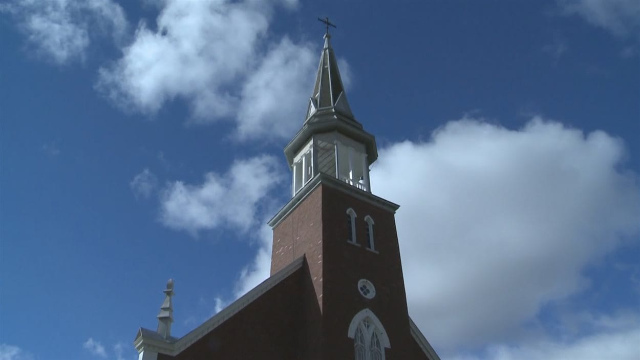 L'église que les élus municipaux de Saint-Edmond-de-Grantham veulent acquérir.
