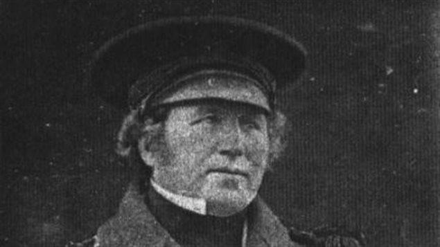 Francis Crozier, le capitaine du Terror