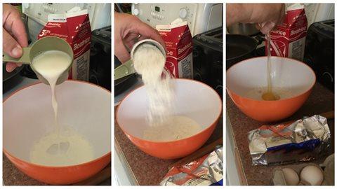 La pâte à crêpe