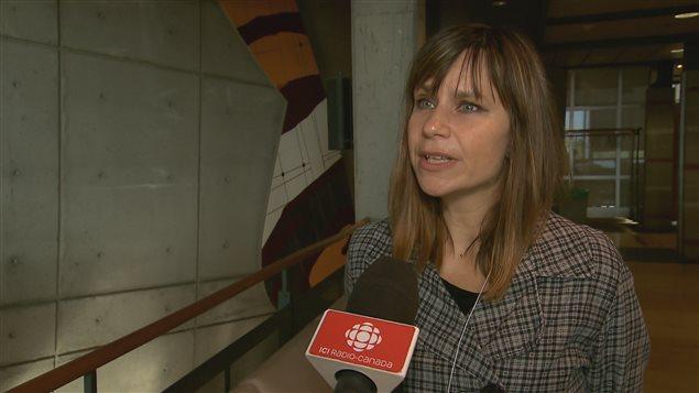 La professeure de la Faculté de droit de l'Université Laval, Julie Desrosiers
