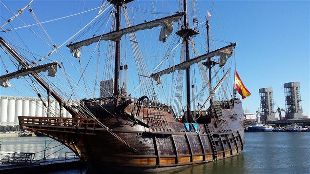 Un Grand Voilier Espagnol Amarr 233 Au Port De Qu 233 Bec Ici