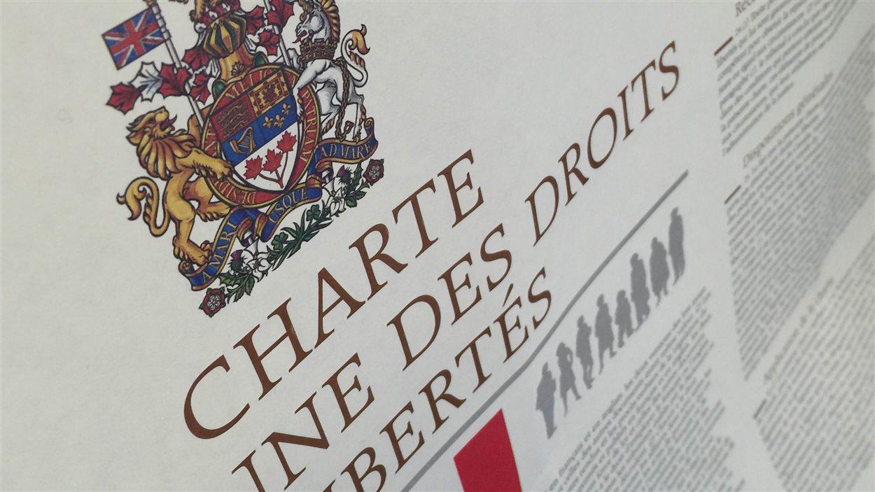 Image de la Charte canadienne des droits et libertés.
