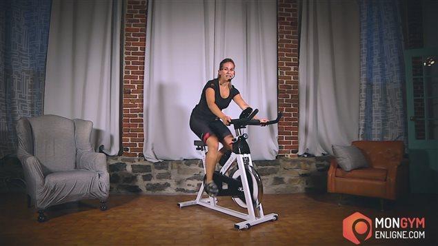 Mon gym en ligne.com propose notamment des séances de spinning.