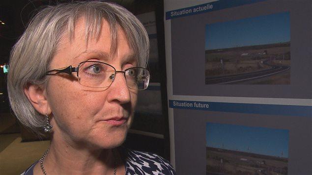 Ginette Cantin, porte-parole d'Hydro-Québec