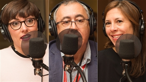 Marianne Désautels-Marissal, Jean-Pierre Routy et Stéphanie Côté