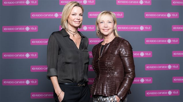 Caroline Néron et Christiane Germain