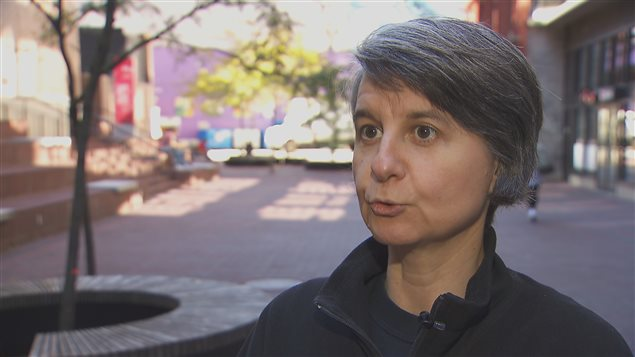 France-Emmanuelle Joly, DG du Vancouver Women's Health Collective et présésidente de Réseau-femmes CB