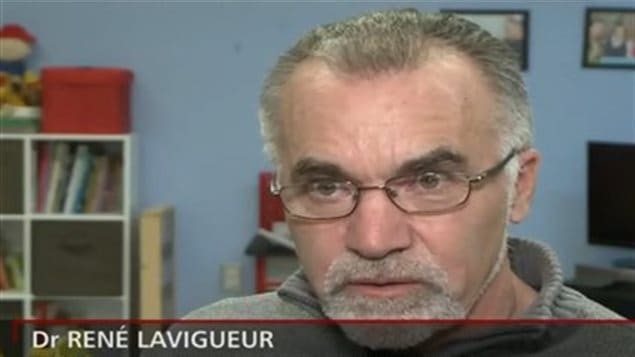 Le docteur René Lavigneur