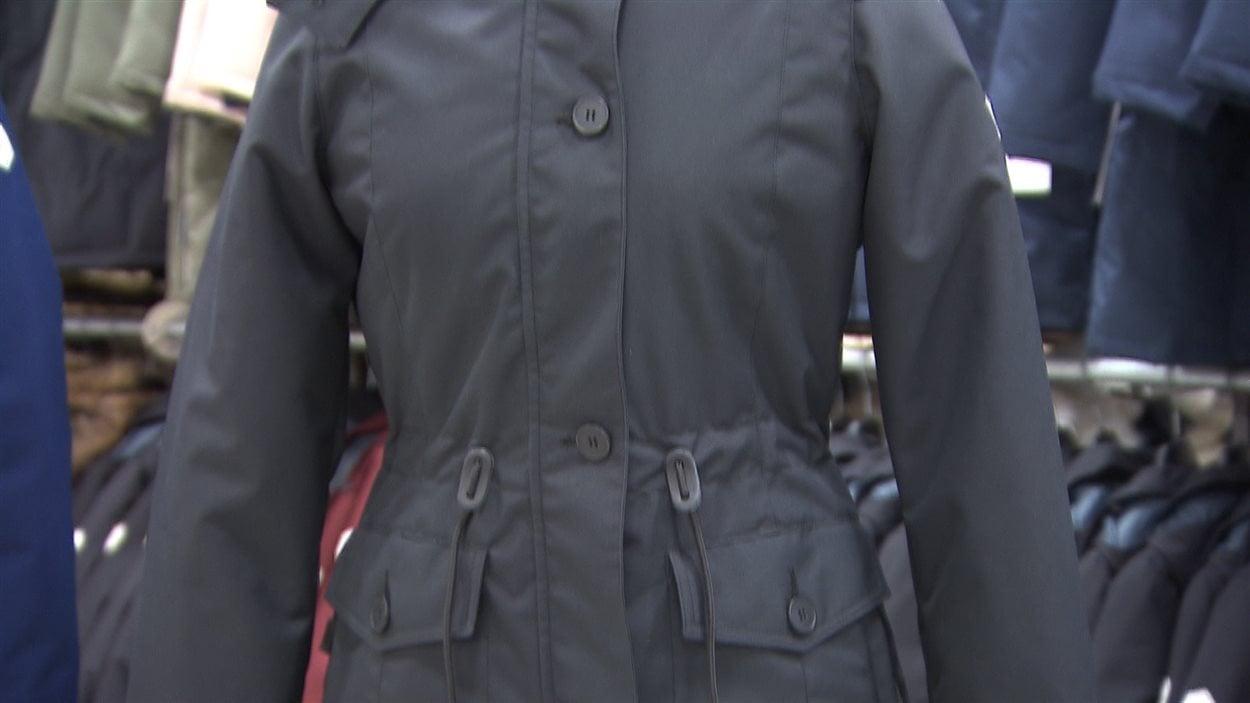 Manteau chaud fait au quebec