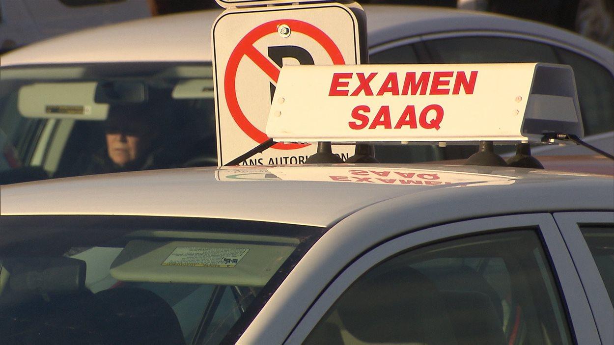 Examen de conduite de la SAAQ