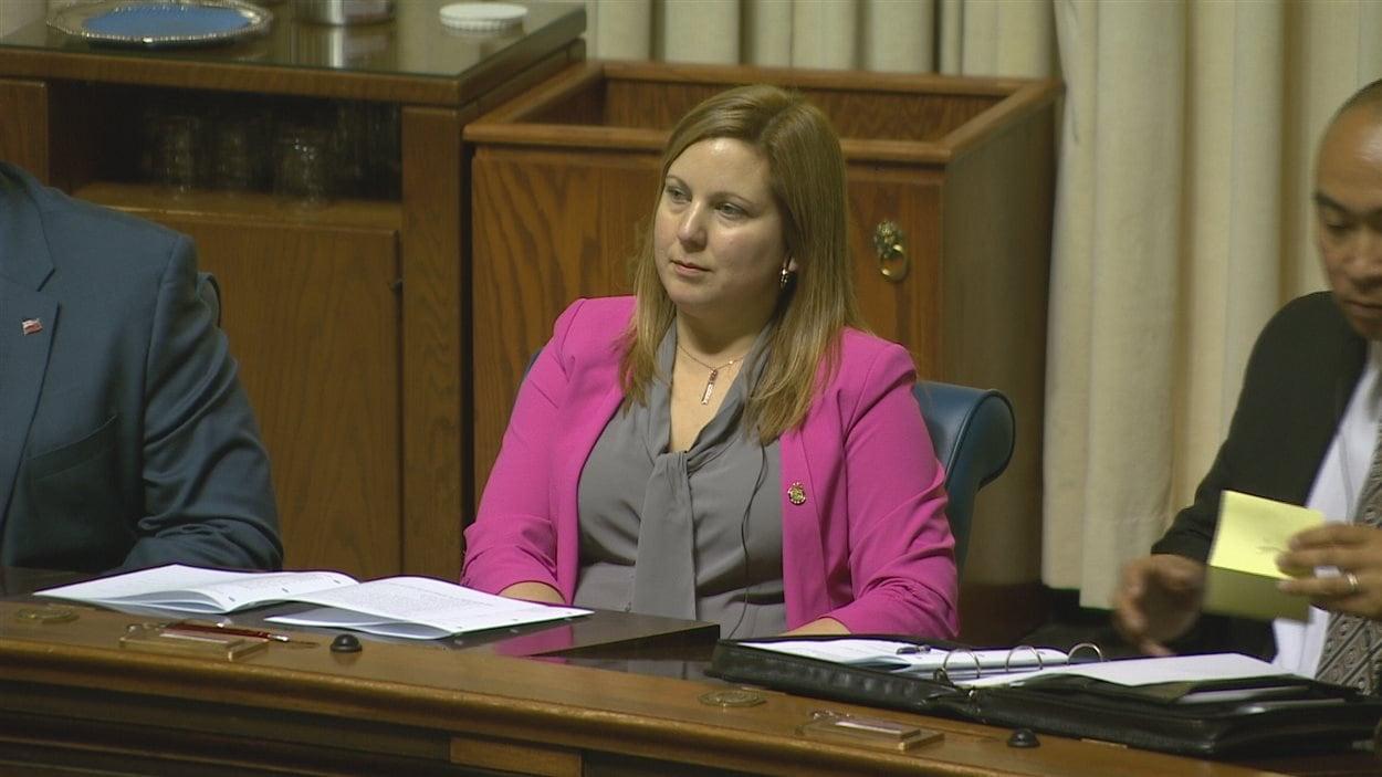 La députée du caucus progressiste-conservateur Sarah Guillemard