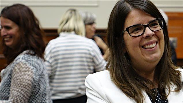 Hélène Dauphinais, conseillère municipale à Sherbrooke