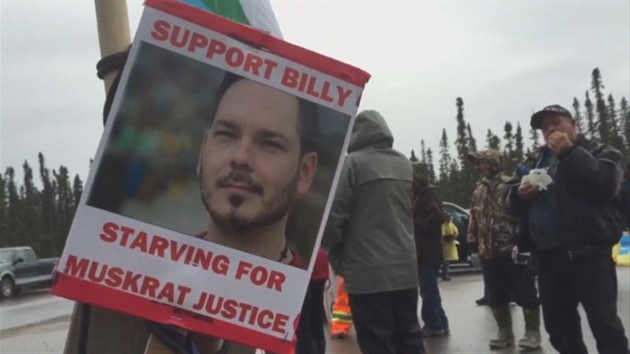 L'artiste inuit Billy Gauthier