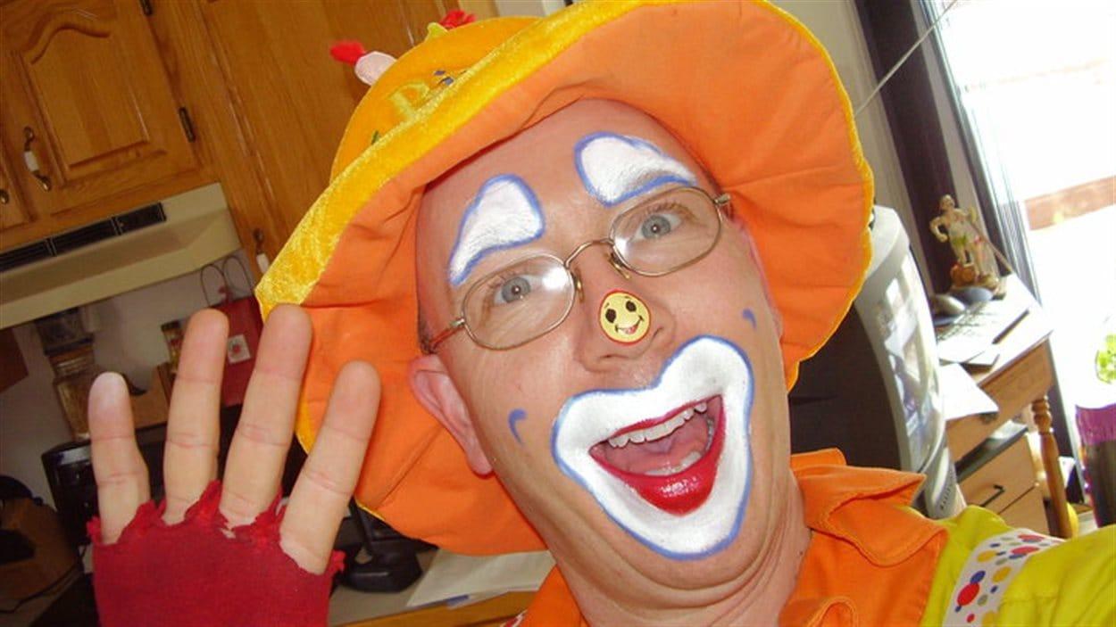 Dale Rancourt, alias Klutzy the Clown