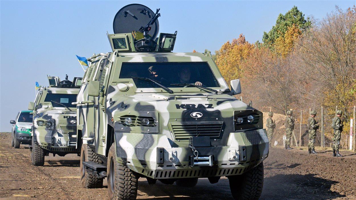 La compagnie canadienne Streit Group est spécialisée dans la fabrication de véhicules blindés.