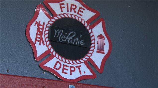 L'insigne des pompiers de Longue-Pointe-de-Mingan