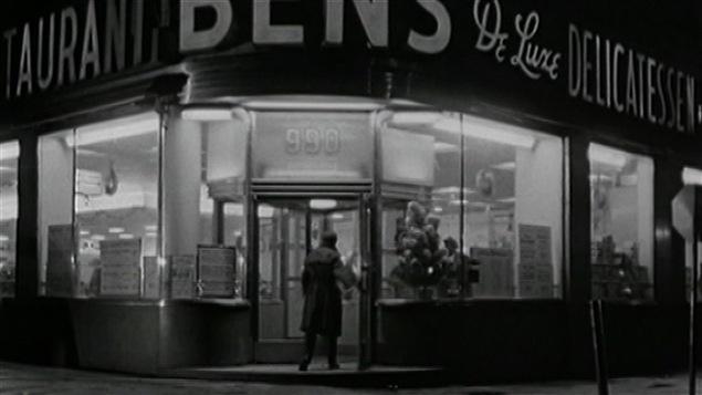 Leonard Cohen visitait de nuit le déli Ben's, aujourd'hui disparu du centre-ville montréalais.