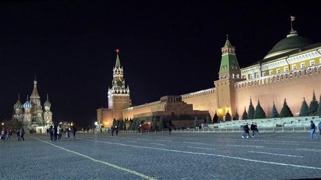 La place Rouge à Moscou, en Russie