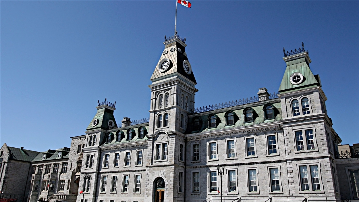 Le Collège militaire royal du Canada à Kingston