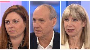 Marie-Maude Denis, Isabelle Richer et Alain Gravel surveillés comme des suspects par la SQ