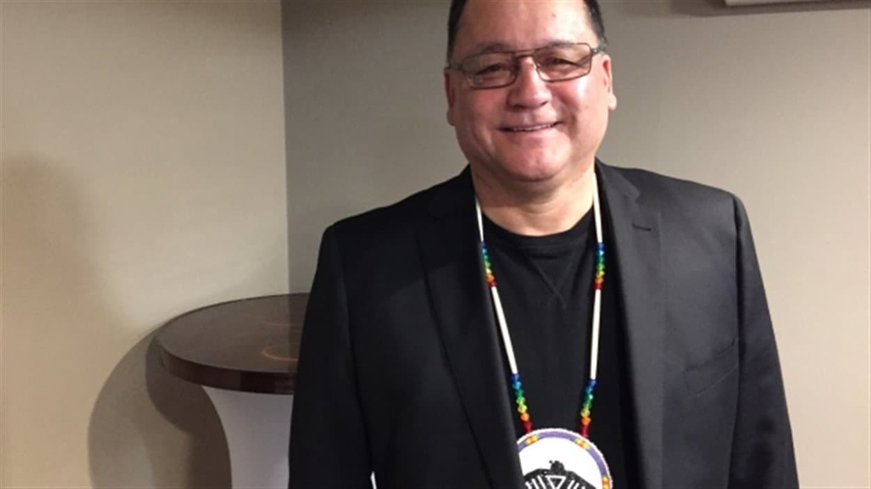 Patrick Madahbee, le Grand chef de la Nation Anishinabek