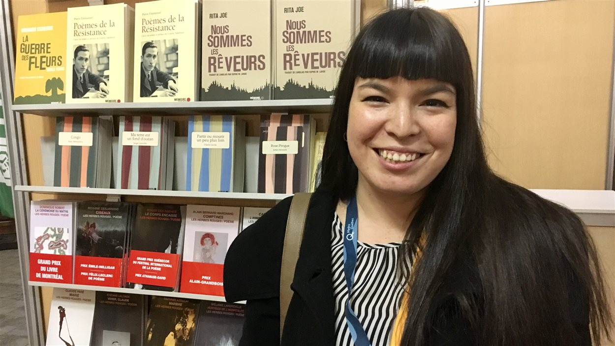 Natasha Kanapé Fontaine au 51e Salon du livre de Rimouski