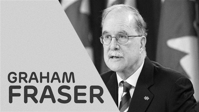 Le commissaire aux langues officielles Graham Fraser quitte ses fonctions le 16 décembre.