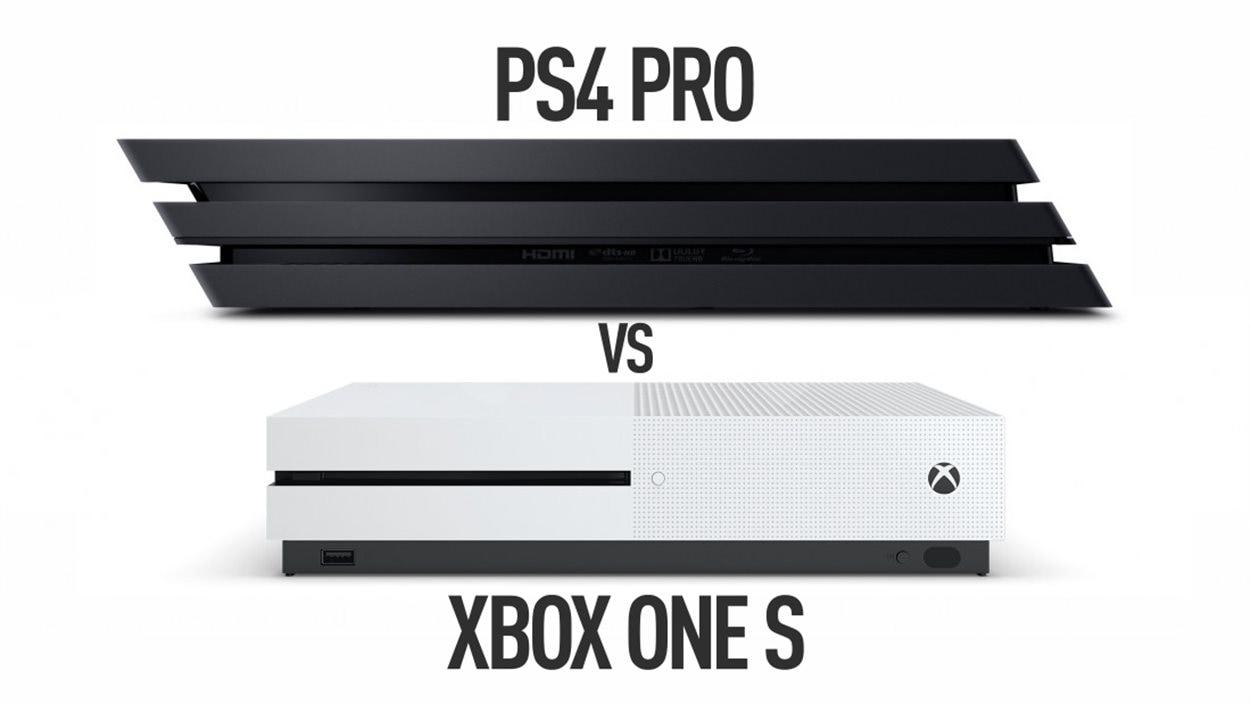 Xbox one s ou ps4 pro quelle console choisir ici radio - Choisir une console de jeux ...
