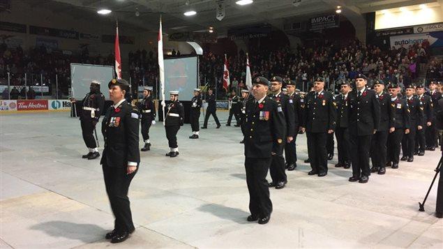 Des réservistes de l'armée à Thunder Bay
