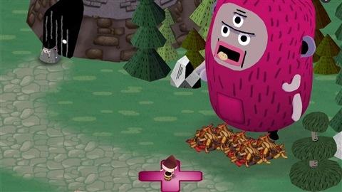 Image tirée du jeu interactif J'aime les patates