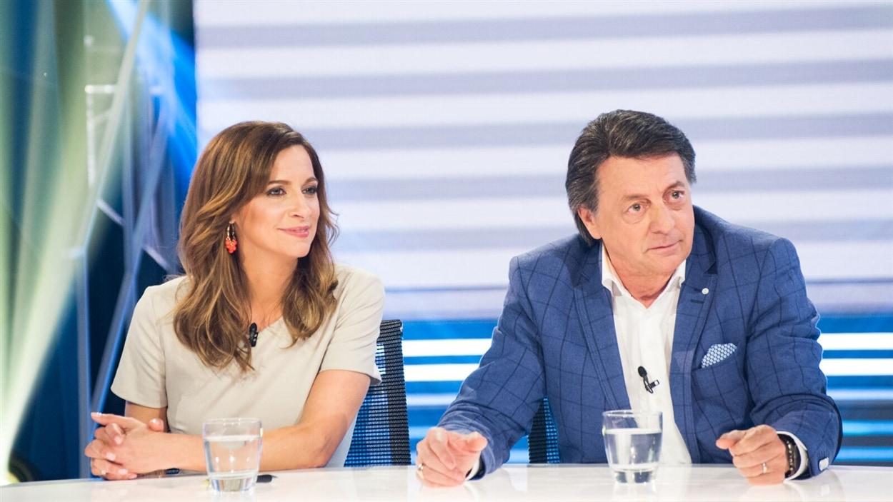 Marie-Soleil Michon et Jean-Luc Mongrain
