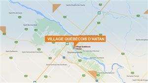 Village Québécois d'Antan est situé près de Drummondville