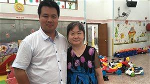 Pascal Robidas et sa mère biologique
