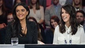 Alexandra Diaz et Geneviève O'Gleman